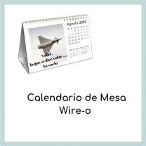 Calendario de mesa Wire-o